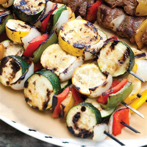vegetables kabobs cilantro lime vegetable kabobs paula deen magazine