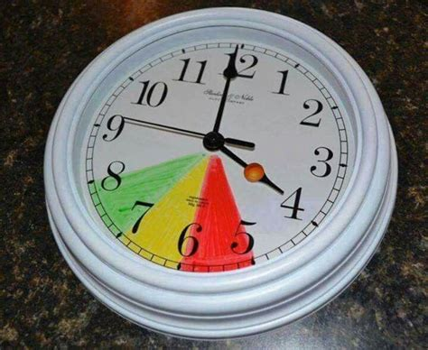 how to tell if your child is color blind color code clock tell children if it s it s not time