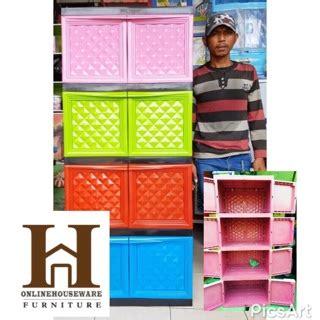 Lemari Plastik Di Shopee lemari rak serbaguna lemari nacase lemari plastik napolly