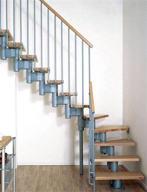 Cheap Staircase Kits by Modular Spiral Stairway Kompact Spiral Staircase