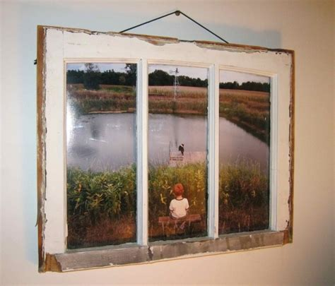 diy home decor use old windows as new photo frames 19 surprisingly awesome ideas to use old windows to add