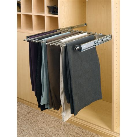 Pant Rack For Closet by Shop Rev A Shelf Pull Out Rack At Lowes
