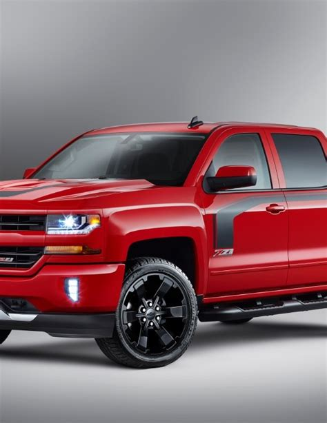 Silverado Rally Edition by Earnhardt Approved 2016 Chevy Silverado Rally Edition