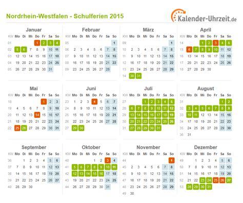 Nrw Kalender 2015 Schulferien Nrw 2015 Search Results Calendar 2015