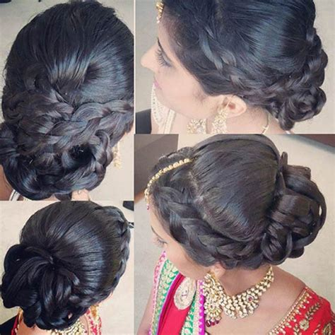 Indian Wedding Hairstyles Braids by 60 Traditional Indian Bridal Hairstyles For Your Wedding