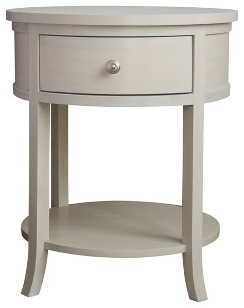 round bedroom table carlisle round bedside table transitional nightstands
