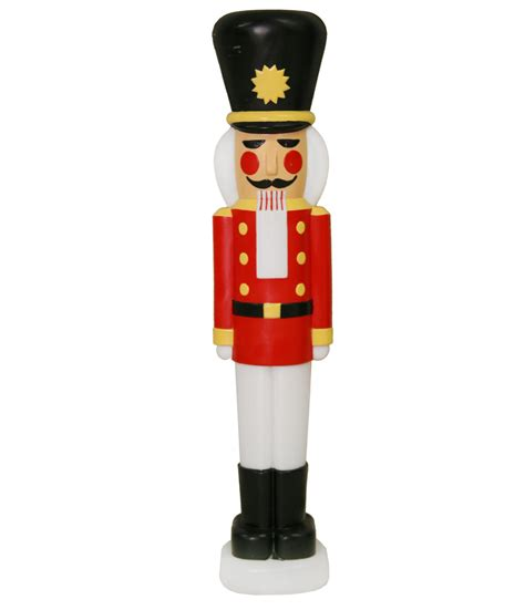 general foam plastics light up nutcracker christmas