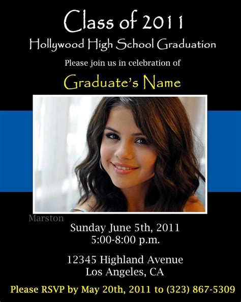 announcement card template graduation invitation graduation invitation templates