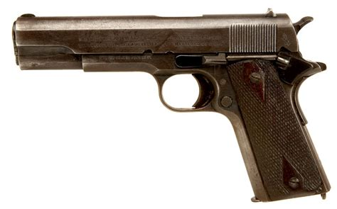 wwi us colt m1911 pistol with original holster