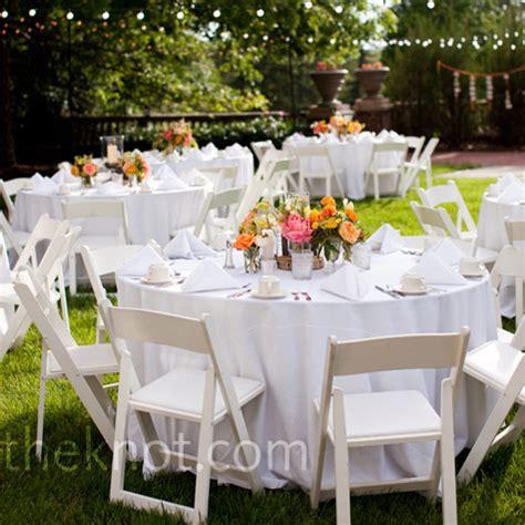 wooden garden chairs wedding genori s crisp white table linens and wooden folding