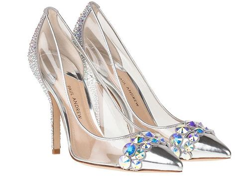 why did cinderella wear glass slippers paul andrew cinderella inspired glass slippers disney