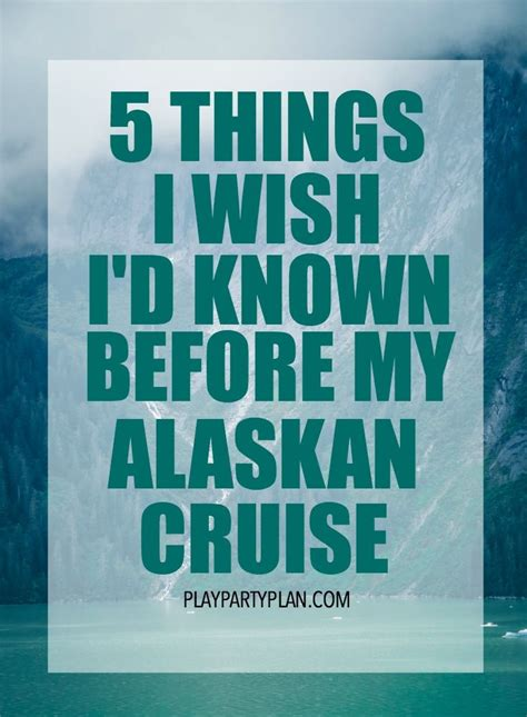 8 Things I Wish Id Always Known About by 25 Best Ideas About Alaska Cruise On Alaska