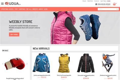 weebly ecommerce templates 10 beautiful weebly themes to use for website weebly expert