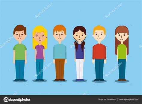 imagenes vectoriales personas dibujos animados iconos de personas archivo im 225 genes