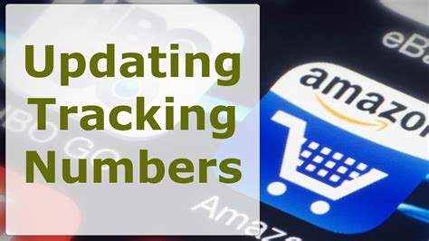 amazon drop shipping updating tracking number on amazon