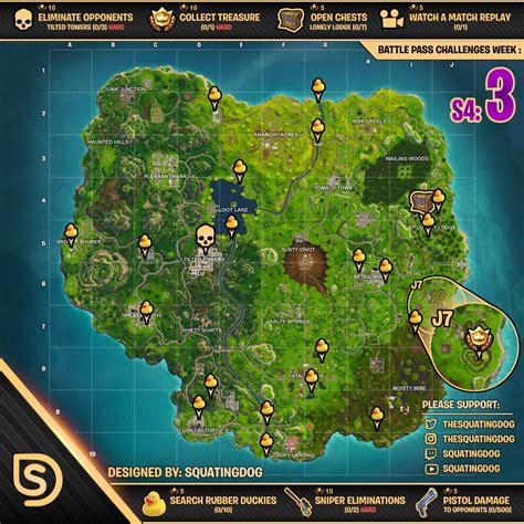fortnite week 3 challenges fortnite week 3 challenges guide season 4 metabomb