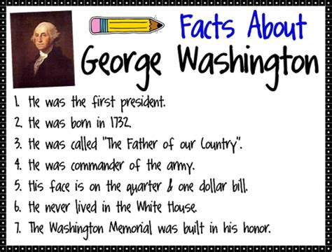 1st grade george washington 1st grade george reading
