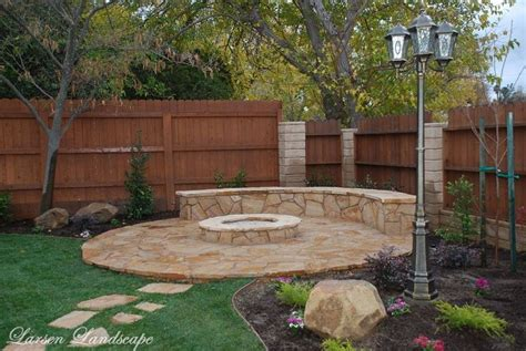 Backyard Fire Pit My Dream House Pinterest Backyards With Pits