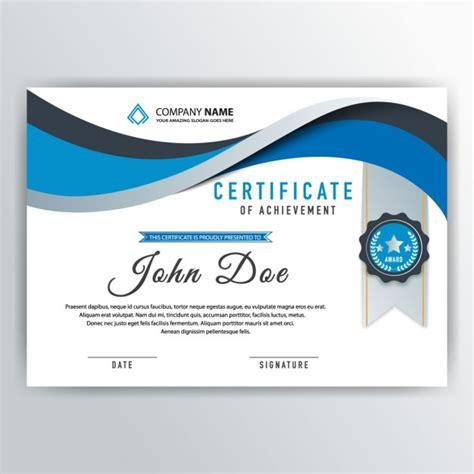 design cer vans abstrait bleu certificat t 233 l 233 charger des vecteurs