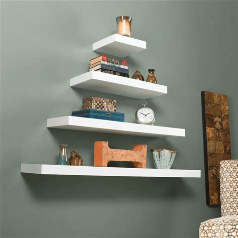 large floating shelves how to decorate large shelves the smart