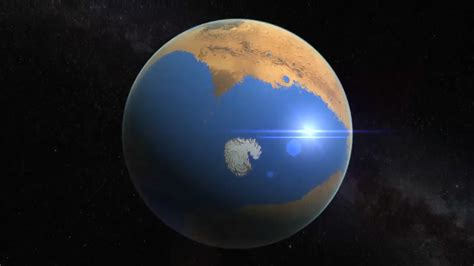 Flight From The Water Planet mediterranean on mars covered 20 of planet