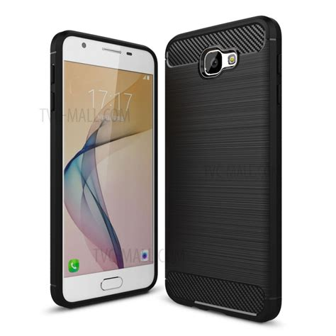 Anti Type Samsung J5 Prime carbon fibre brushed tpu for samsung galaxy on5 2016
