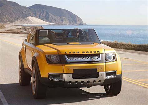 land rover concept wordlesstech land rover dc100 sport concept