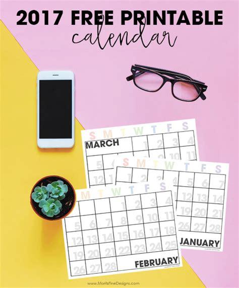 printable calendar add events 2017 printable calendar moritz fine designs