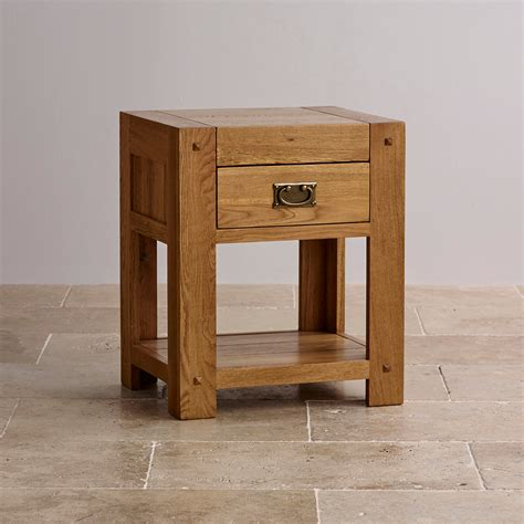how high should a bedside table be quercus 1 drawer bedside table rustic solid oak
