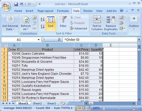 Ms How To Order how to format dates in descending order in microsoft excel ehow