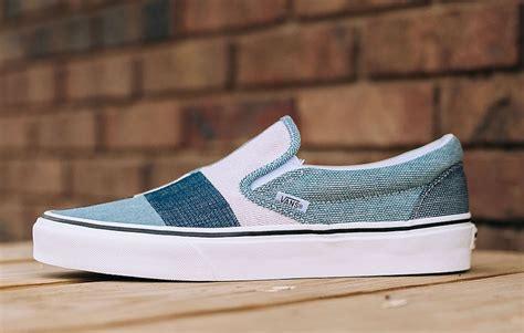 sepatu vans slip denim 03 vans classic slip on patchwork sneaker bar detroit