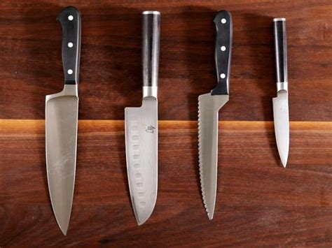 how to choose use and care for knives a step by step