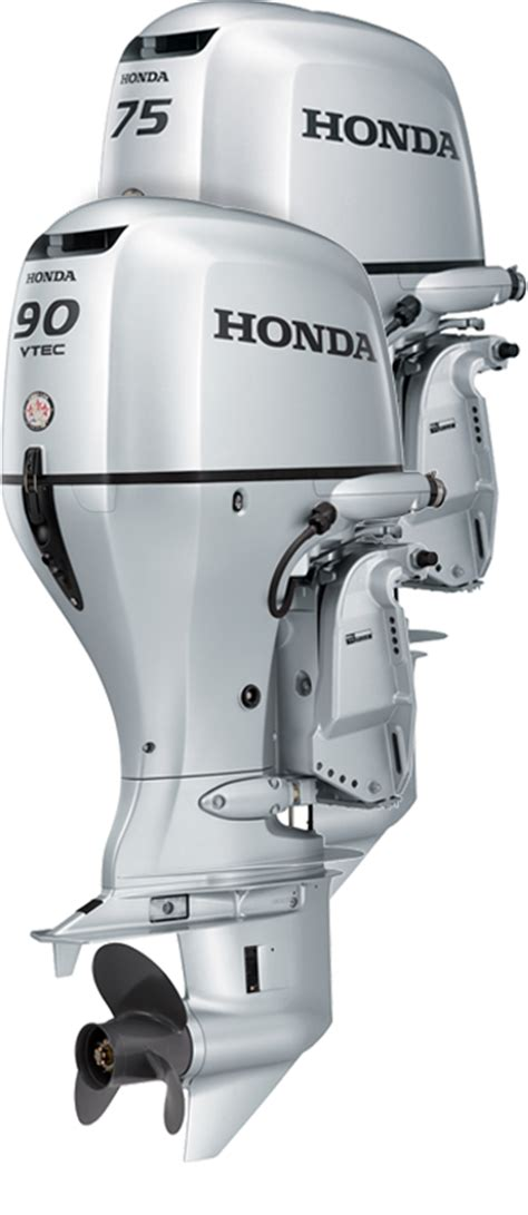 honda bf75 and bf90 outboard engines 75 and 90 hp 4