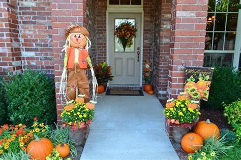 front yard fall decorating ideas front porch decorating ideas for fall ultimate home ideas