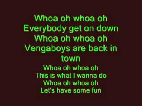 song boom boom boom i want you in my room vengaboys boom boom boom boom lyrics