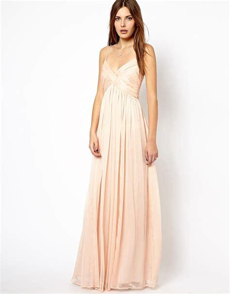 Maxi Dress Forever 8 Kode 3513 mango mango chiffon ruch maxi dress at asos