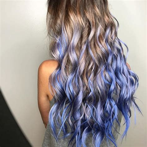 periwinkle hair style image periwinkle mermaid by kasey hair love this color kasey