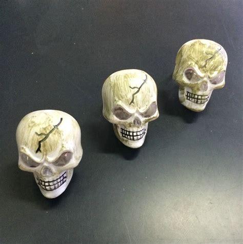 cheap plastic skull ring with light ring