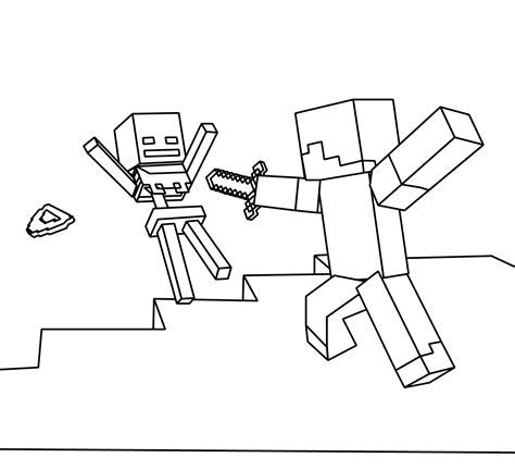 free coloring pages of minecaft cars