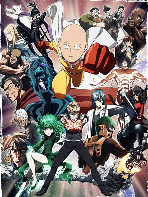 6 Anime One Vostfr by L Anime One Punch Disponible Gratuitement En