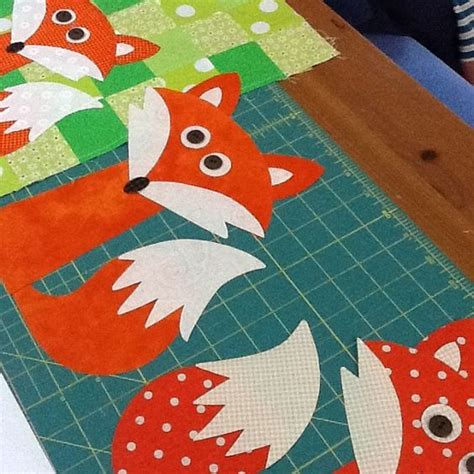 Fox Quilt Pattern by The World S Catalog Of Ideas