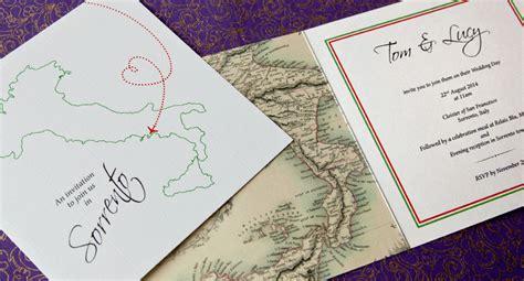 italian wedding invitations wording italian themed wedding stationery and favours