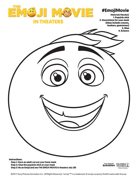 imagenes emoji para imprimir the emoji movie get the fun going with these coloring