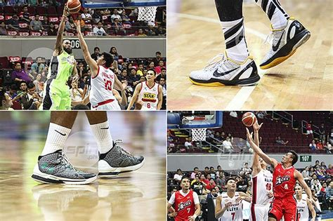 yap basketball shoes see what shoes yap romeo abueva pingris are