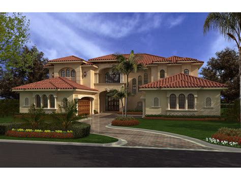 Tile Roof House Plans by Ortega Point Luxury Home Plan 106s 0062 House Plans And More