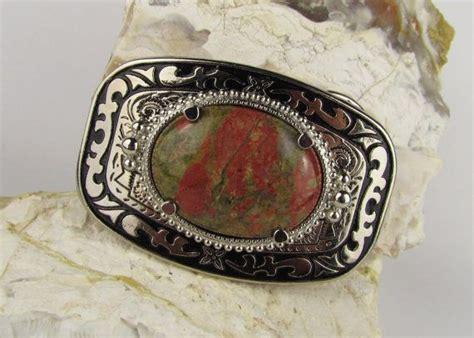 Handmade Western Belt Buckles - ooak handmade western belt buckle boho