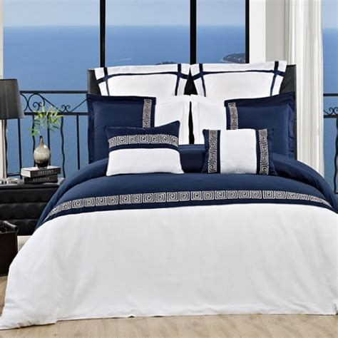Navy Blue And White Comforter And Bedding Sets Navy And White Bedding Sets