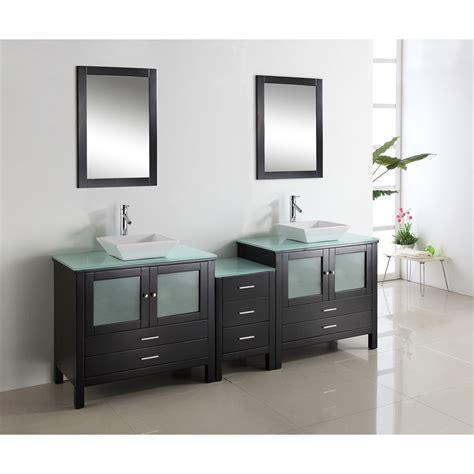 virtu bathroom accessories virtu usa brentford 90 quot double sink bathroom vanity