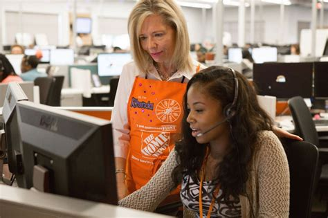 contact center the home depot office photo