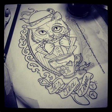 tattoo cat in frame frame com faixa frame tattoo pinterest